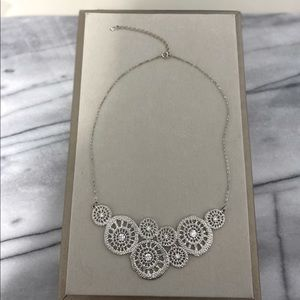 Silver Bib Neckpiece